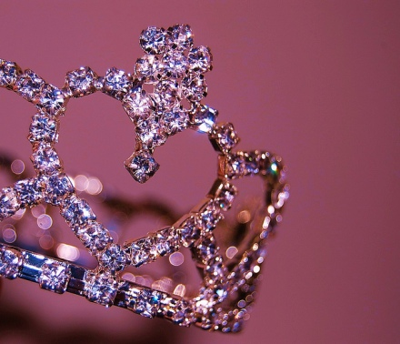 photo of heart tiara